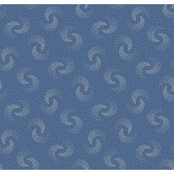 3553-001 Family Roots - Hazel - Dusty Blue Fabric