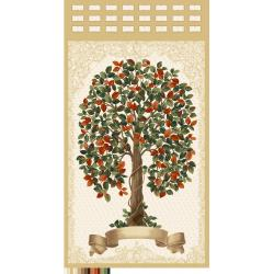 3554-001 Family Roots - Family Tree - Multi Panel Fabric