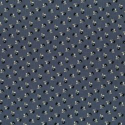 3003-001 Forget Me Not - Blossom - Blue Fabric