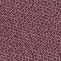 3006-001 Forget Me Not - Cluster - Plum Fabric