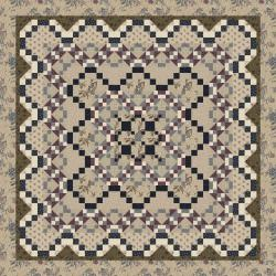 9653-402 Forget Me Not - Parlor Quilt Kit