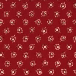 2425-001 Redwork Meets Bluework - Millie - Red Fabric