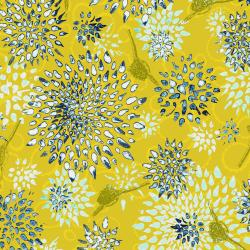 LT301-CI1 Pollinator - Allium - Citron Fabric