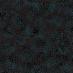 LT306-BA3 Pollinator - Pods - Back to Black Fabric