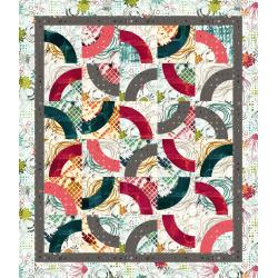 9653-372 Urban Artifacts - Curvaceous Quilt Kit
