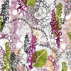 3357-001 Urban Garden - Garden Story - Morning Walk Fabric