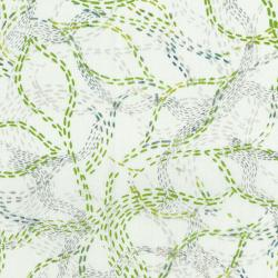 3360-002 Urban Garden - Pathways - Celadon Fabric