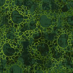 3361-002 Urban Garden - Pebblescape - Jasper Green Fabric