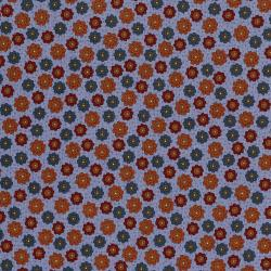 3045-001 High Meadow Farm - Sunflower Paddock - Cornflower Blue Fabric