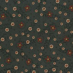 2540-003 Highland - Butter Cups - French Navy Fabric