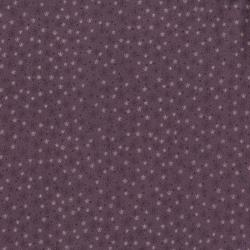 2402-003 Needles & Pins - Lazy Daisies - Plum Fabric
