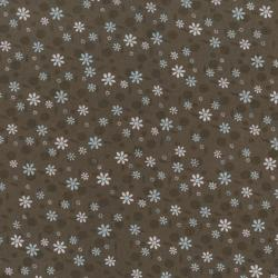 2281-004 Time With Friends - Earth - Brown Fabric