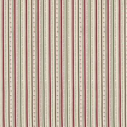 2334-001 Winter Village - Stripe - Cream Fabric