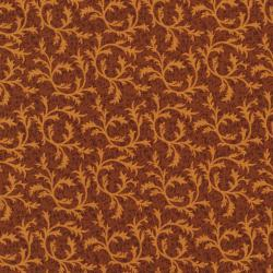 2765-002 Autumn Landscape - Scroll - Pumpkin Fabric