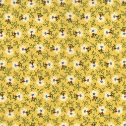 2652-001 Home Again - Daisy - Yellow Fabric