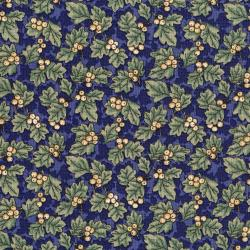 3053-001 River Song - Oakberry - Navy Fabric