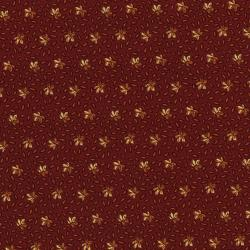 3055-001 River Song - Leaf Sprinkle - Brick Road Fabric