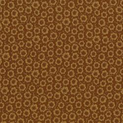 3058-002 River Song - Simple Bloom - Gold Fabric