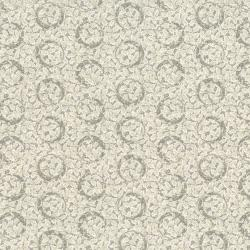 2655-003 Sand & Stone - Circle Ivy - Silver Fabric