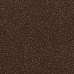 2032-003 Basically Patrick - Loopy Meander - Brown/Pink Fabric