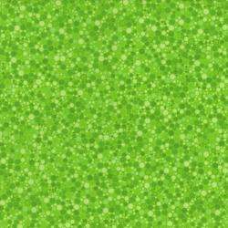 2034-005 Basically Patrick - Hexies - Bright Green Fabric