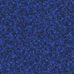 2034-010 Basically Patrick - Hexies - Navy Fabric