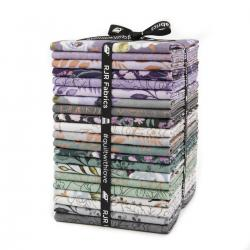 PS100P-FQB Lilac & Sage Metallic Fat Quarter - Bundle