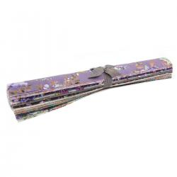 PS100P-FQR Lilac & Sage Metallic Fat Quarter - Roll