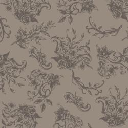 PS202-GR2 Summer Rose - Charlotte - Grey Fabric
