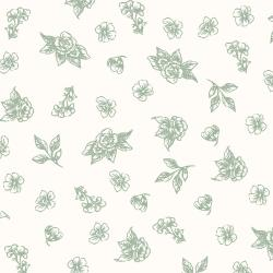 PS204-OR1 Summer Rose - Josephine - Oregano Fabric