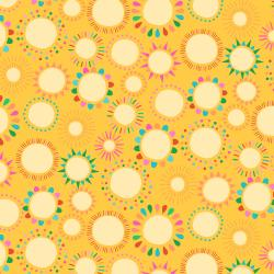 RJ1303-GO2 Adventure - Hello Sunshine - Goldenrod Fabric