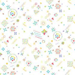 RJ1304-MU1 Adventure - Magical Flowers - Multi Fabric
