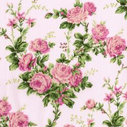 3144-002 Afternoon In The Attic - Cottage Rose - Sweet Pea Fabric