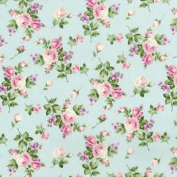 3145-002 Afternoon In The Attic - Heirloom Floral - Sweet Pea Fabric