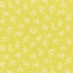 3149-005 Afternoon In The Attic - Cameo Blossom - Daffodil Fabric