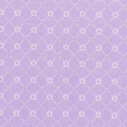 3150-001 Afternoon In The Attic - Sweet Eyelet - Lavender Fabric