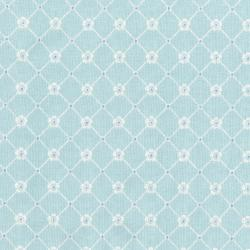 3150-004 Afternoon In The Attic - Sweet Eyelet - Aqua Fabric