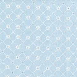 3150-006 Afternoon In The Attic - Sweet Eyelet - Bluebell Fabric