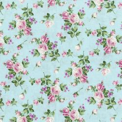 3266-002 Afternoon In The Attic - Heirloom Floral - Sweet Pea Flannel Fabric