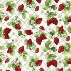 3557-002 Ambrosia Farm - Berry Picking - Natural Fabric