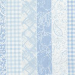 3560-001 Ambrosia Farm - Picnic Stripe - Blue Sky Fabric