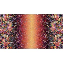 RJ800-SU1D Arcadia - Floret Cascade - Sunset Digiprint Fabric