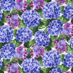 2913-001 Beverly Park - Lexington - Hydrangea Fabric