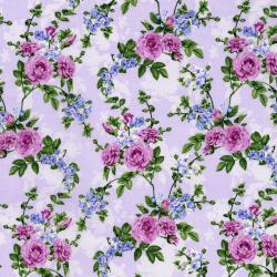 2914-001 Beverly Park - Melrose - Lavender Fabric