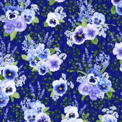 3563-002 Bloomfield Avenue - Fairhill - Iris Fabric