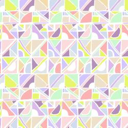 RJ3000-PA1 Cubing It - Stained Glass Window - Pastel Fabric