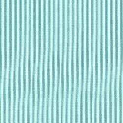 2959-001 Dots & Stripes - Ticking Away - Robins Egg Fabric
