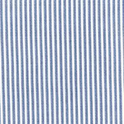 2959-015 Dots & Stripes - Ticking Away - Blue Jay Fabric