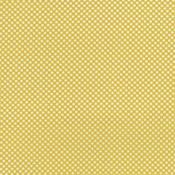 2961-009 Dots & Stripes - Dot Com - Lemon Fabric
