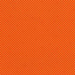 2961-014 Dots & Stripes - Dot Com - Orange Peel Fabric